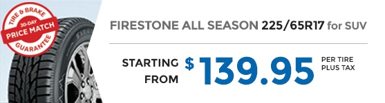 FIRESTONE ALL SEASON 225/65R17