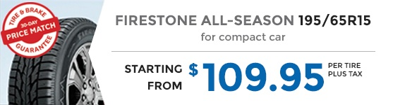FIRESTONE ALL SEASON 195/65R15