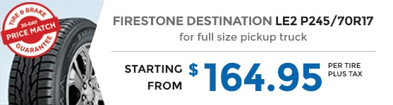 FIRESTONE DESTINATION LE2 P245/70R17