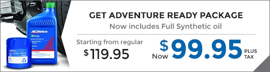 Get Adventure Ready Package