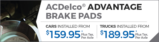 ACDelco AdVantage Break Pads