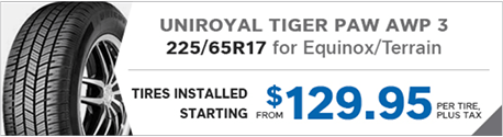 Uniroyal Tiger Paw Tires