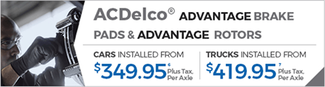 AcDelco Advantage Brake